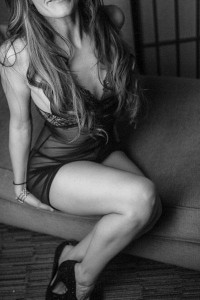 Sensual in Black and White